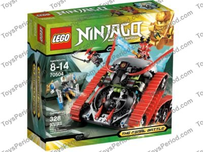 Head Green Eyes and Red Face Markings Ninjago 70504 LEGO x 10 White Minifig