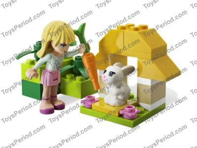LEGO 3935 Stephanie's Pet Patrol Set Parts Inventory and ...