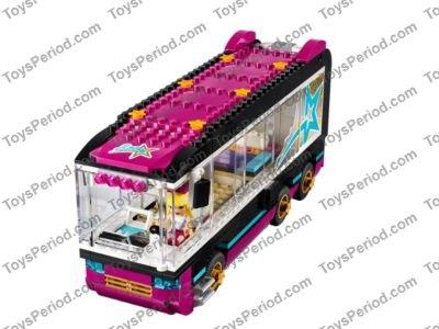 LEGO 41106 Sticker Sheet for Lego Friends Pop Star Tour Bus NEW Decals