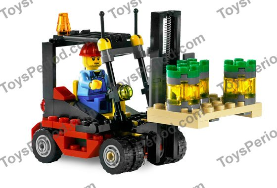 Lego 7733 Truck And Forklift Set Parts Inventory And Instructions