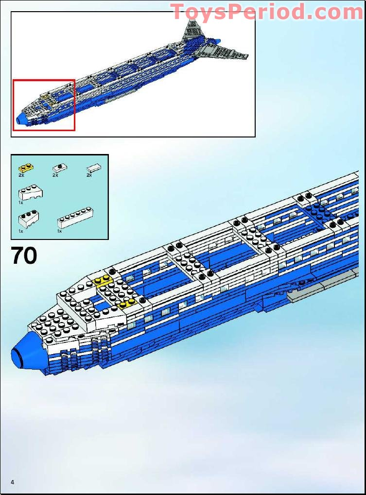 lego boeing 747 instructions