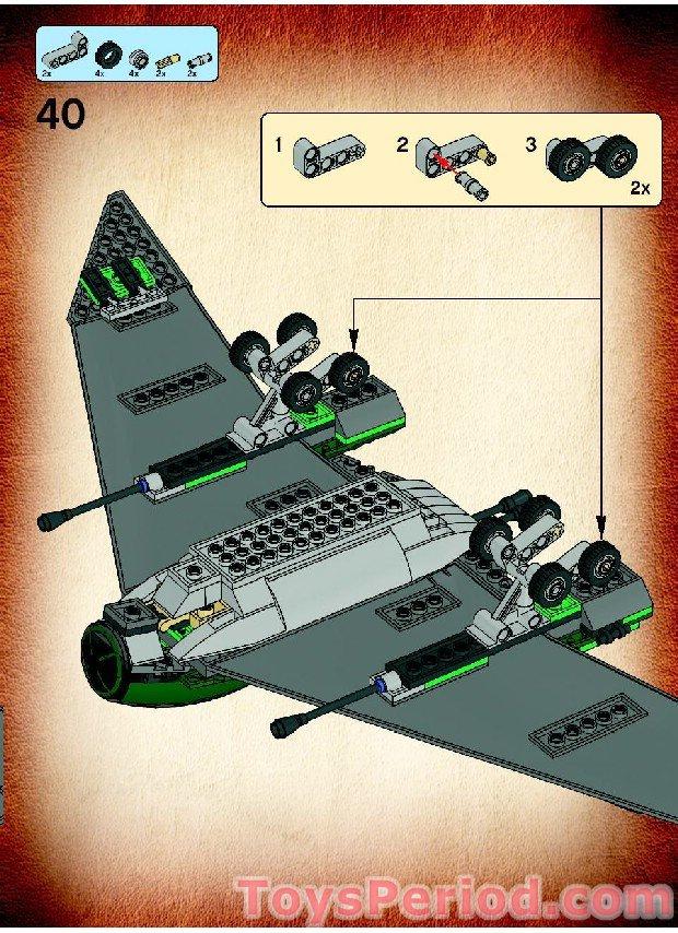 u wing lego instructions