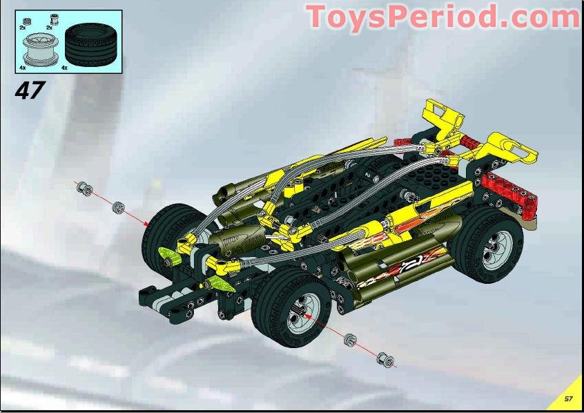 Lego 8472 Street N Mud Racer Set Parts Inventory And