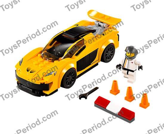 Lego 75909 Mclaren P1 Set Parts Inventory And Instructions Lego