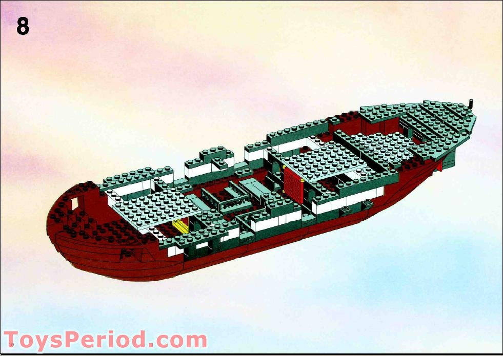 lego black seas barracuda instructions