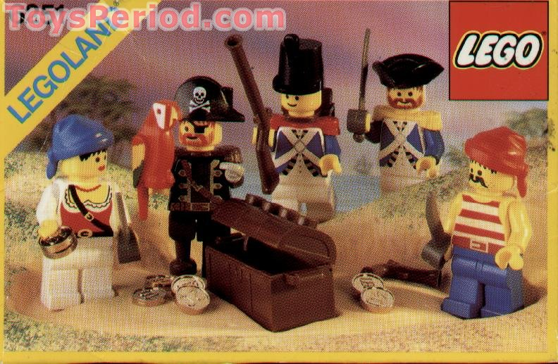 Toy Pirate Lego : Lego pirate minifigures set parts inventory and