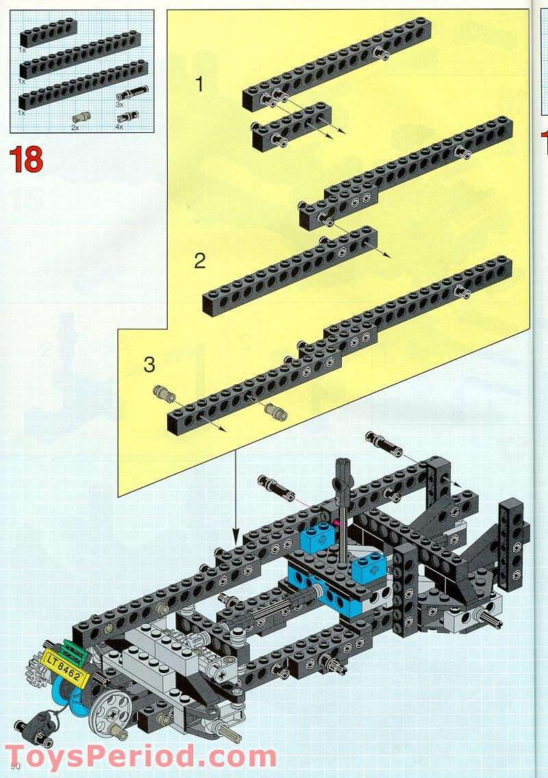 lego technic tow truck instructions