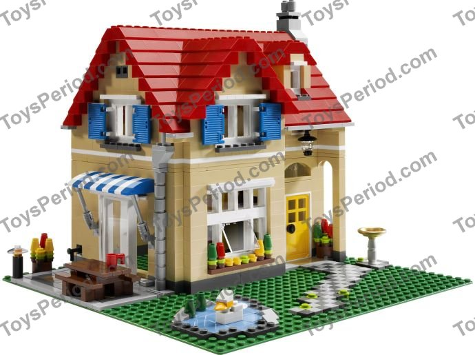 Lego 6754 Family Home Set Parts Inventory And Instructions Lego