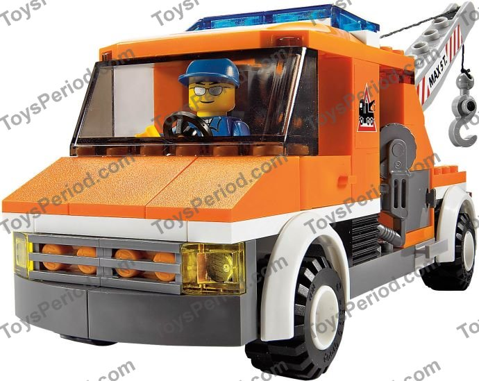 Lego Orange Garbage Truck Instructions