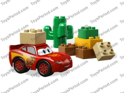 Lego 5813 Lightning Mcqueen Set Parts Inventory And Instructions
