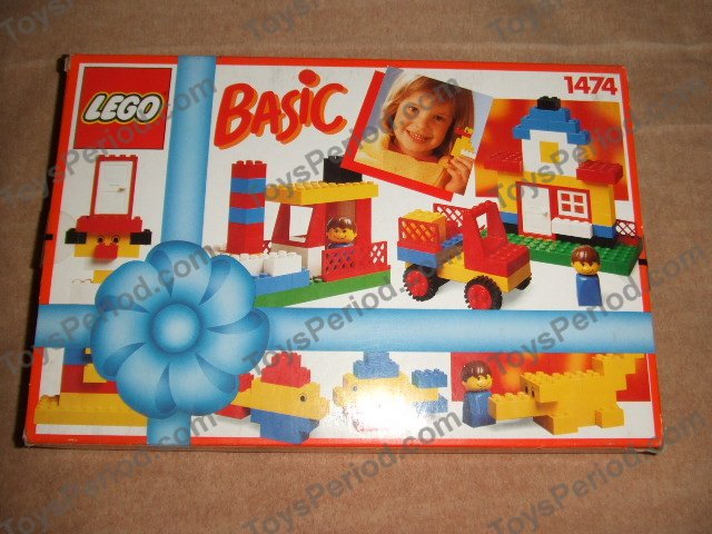 Lego 1474 basic building set with gift item 3 plus set - Plus belle construction lego ...
