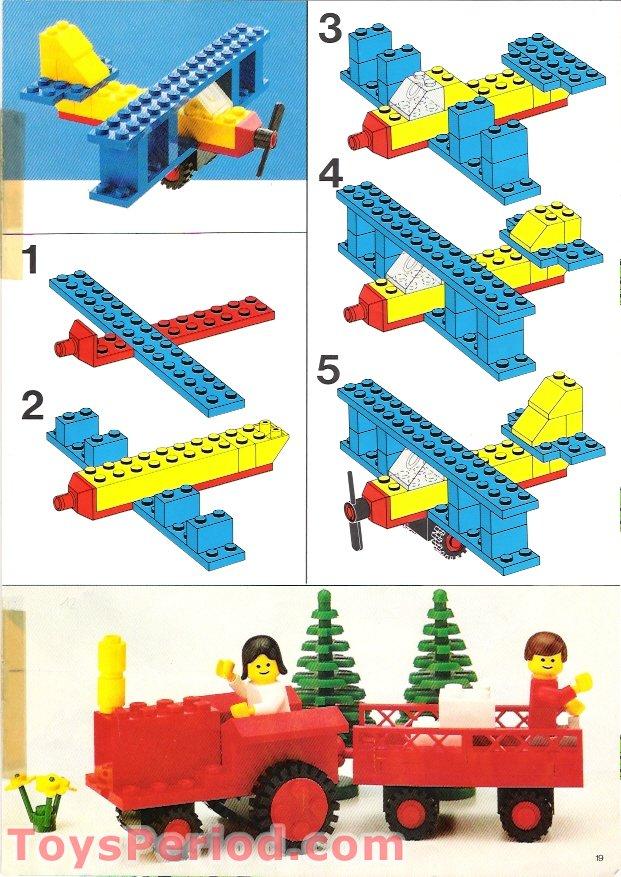 Lego 550 1 Basic Building Set Set Parts Inventory And Instructions