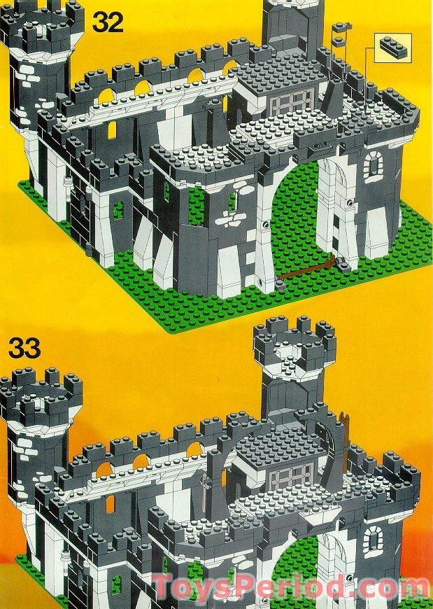 Lego 6085 Black Monarchs Castle Set Parts Inventory And