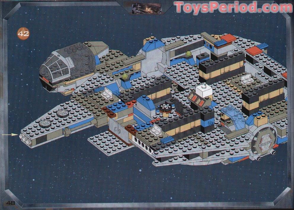 LEGO 7190 Millennium Falcon Set Parts Inventory And Instructions