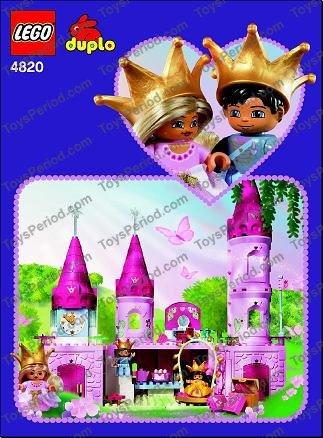 duplo princess castle instructions