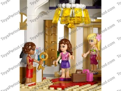 Lego 41101 Heartlake Grand Hotel Set Parts Inventory And
