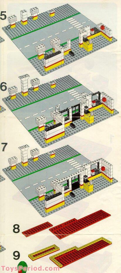 LEGO Shell Gas Station