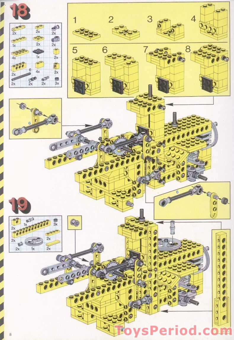 lego 42055 c model instructions