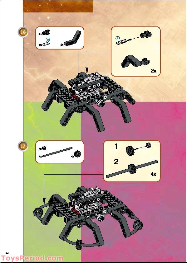 LEGO 9731 Vision Command (Digital Color Camera) Set Parts ...