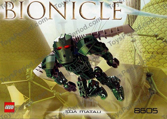 Toa Matau Figur 8605 Lego Bionicle