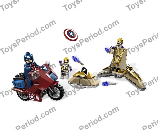 Lego Super Heroes Minifigure body Torso Alien General MARVEL Minifig Part 6865