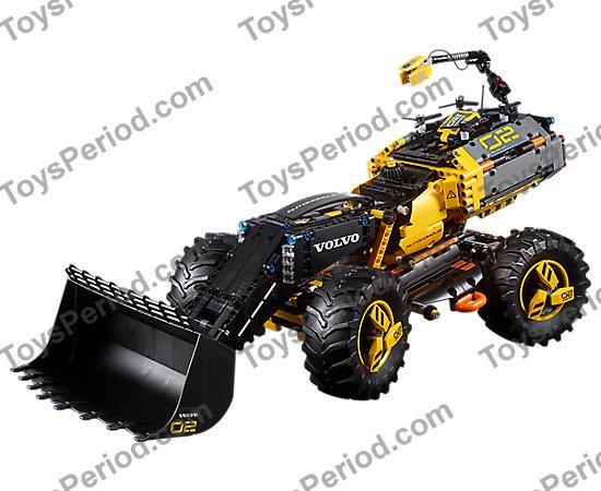 Technic Bush with Three Axles in Md Stone part no 57585 4x Technic Lego