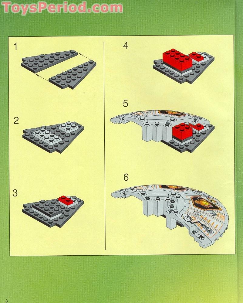 Lego vintage space instruction manuals 2153 6977 6915 6958 2847.