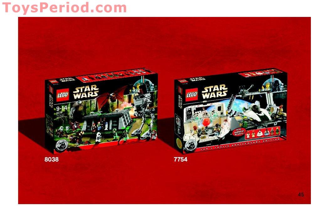 Lego 7749 Echo Base Set Parts Inventory And Instructions Lego