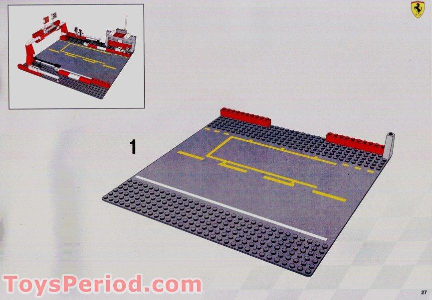 Lego 8375 Ferrari F1 Pit Stop Set Parts Inventory And