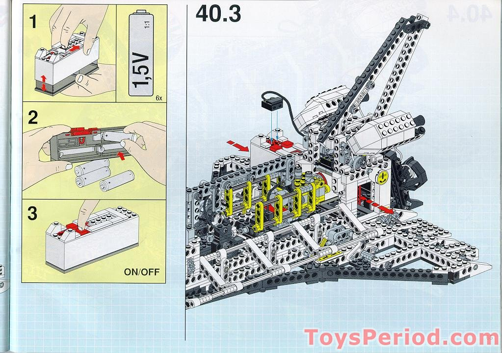 lego space shuttle parts list - photo #5
