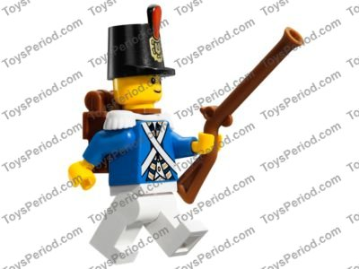 NEW Lego Lot//5 Minifig Brown FLINTLOCK MUSKETS Pirate Army Soldier Gun Weapon