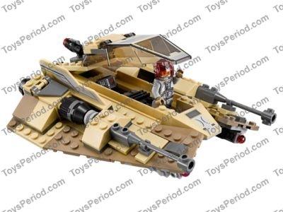 LEGO Star Wars Sandspeeder Pilot Minifigure 75204 Mini Fig Sand Speeder