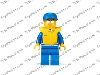 LEGO PART 2610 YELLOW MINIFIGURE LIFE JACKET X 2 SWIMMING WATER