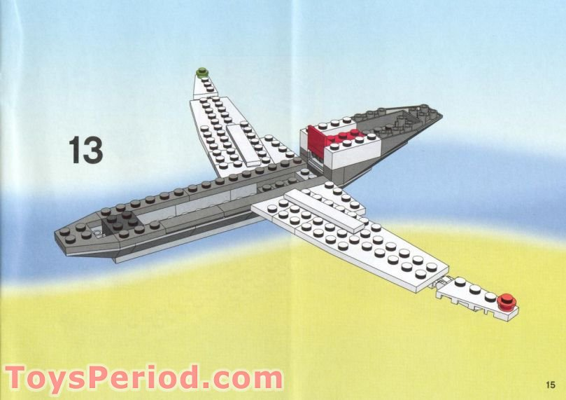 lego plane instructions free