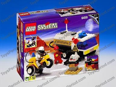 with Original Box /& BA 100/% Complete Selection f12 Lego 6459 6471 6324 POLICE TANKER TRUCK