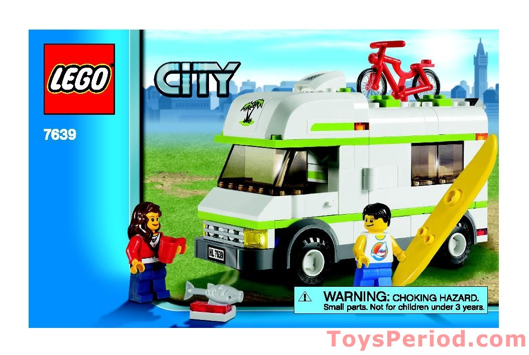 Lego 7639 Camper Set Parts Inventory And Instructions Lego