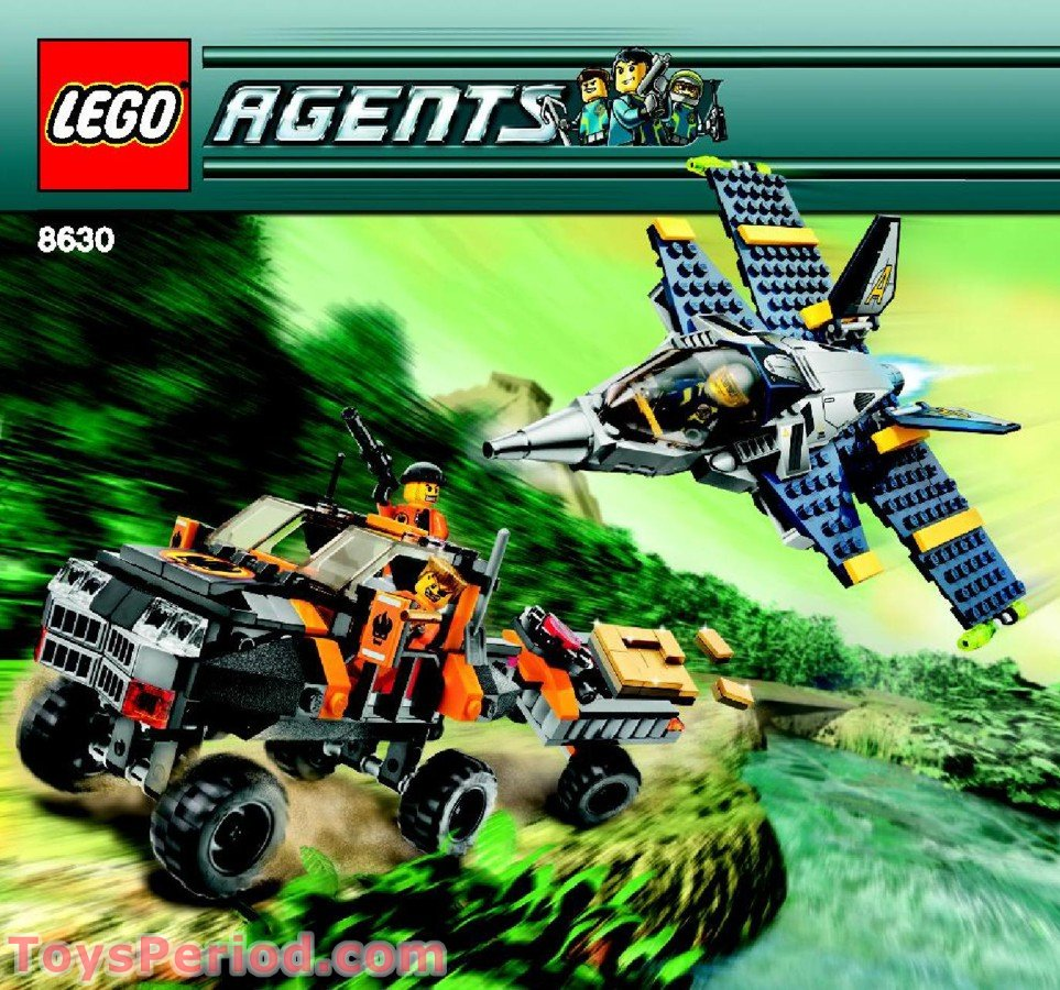 LEGO 8630 Mission 3: Gold Hunt Set Parts Inventory and ...