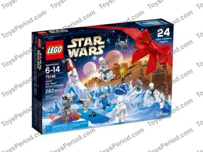 LEGO 75146 LEGO Star Wars Advent Calendar Set Parts Inventory and ...