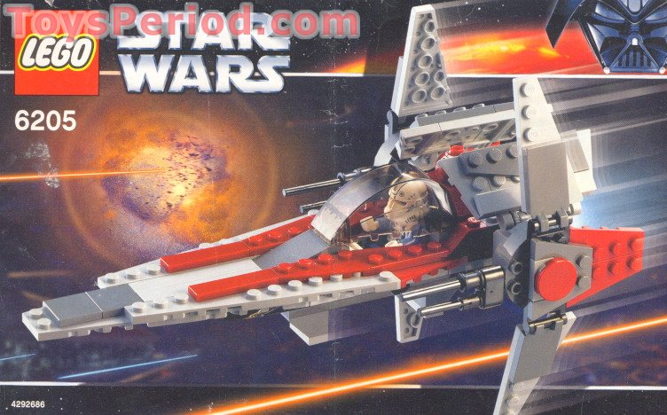 lego star wars v wing instructions