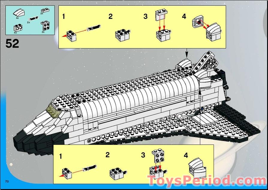 lego space shuttle transport instructions - photo #38