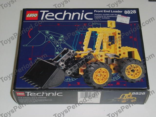 Lego 8828 Front End Loader Set Parts Inventory And Instructions
