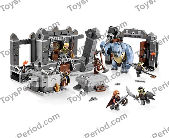 LEGO Instruction Booklets The Mines of Moria LOTR Set 9473 NEW 2 Books