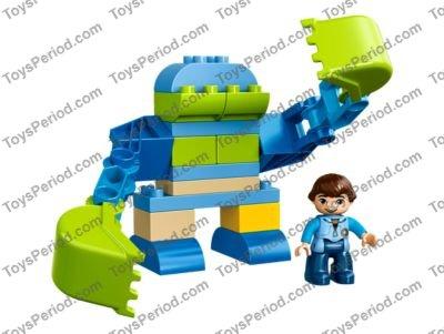 LEGO 10825 Miles' Exo-Flex Suit Set Parts Inventory and Instructions ...