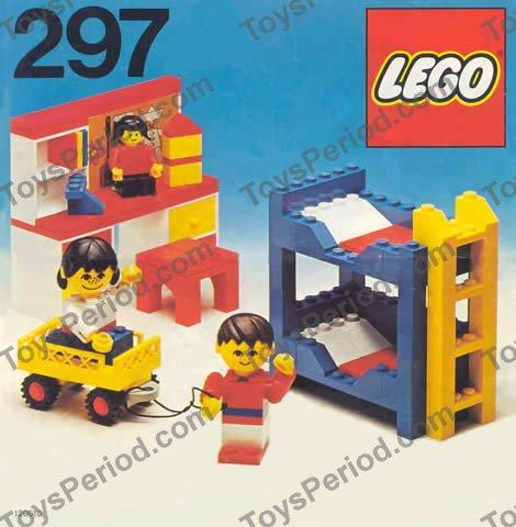Lego 297 nursery set parts inventory and instructions - Lego kinderzimmer ...