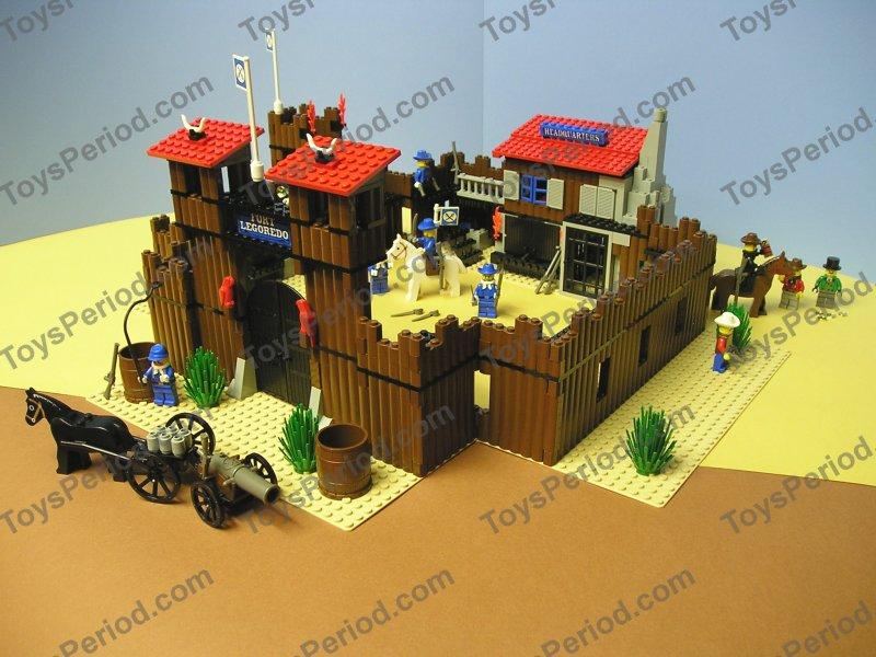 LEGO 6769 Fort Legoredo *VINTAGE REVIEW!* - Wild West ... |Lego Wild West Fort