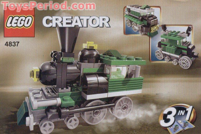 Lego 4837 Mini Trains Set Parts Inventory And Instructions Lego