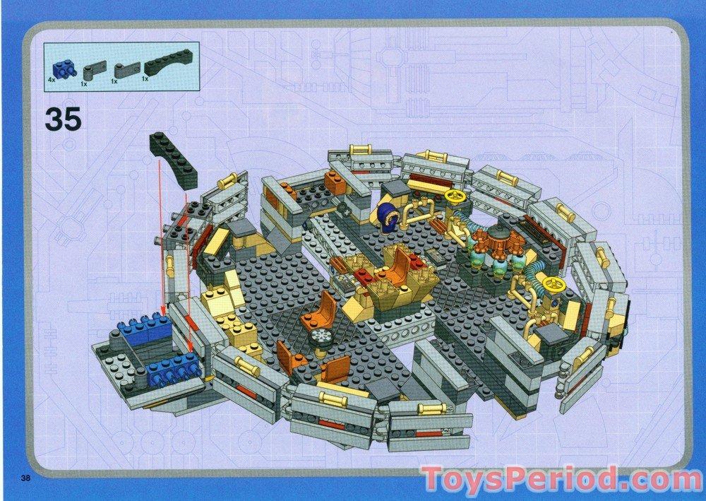 lego star wars instructions millenium falcon