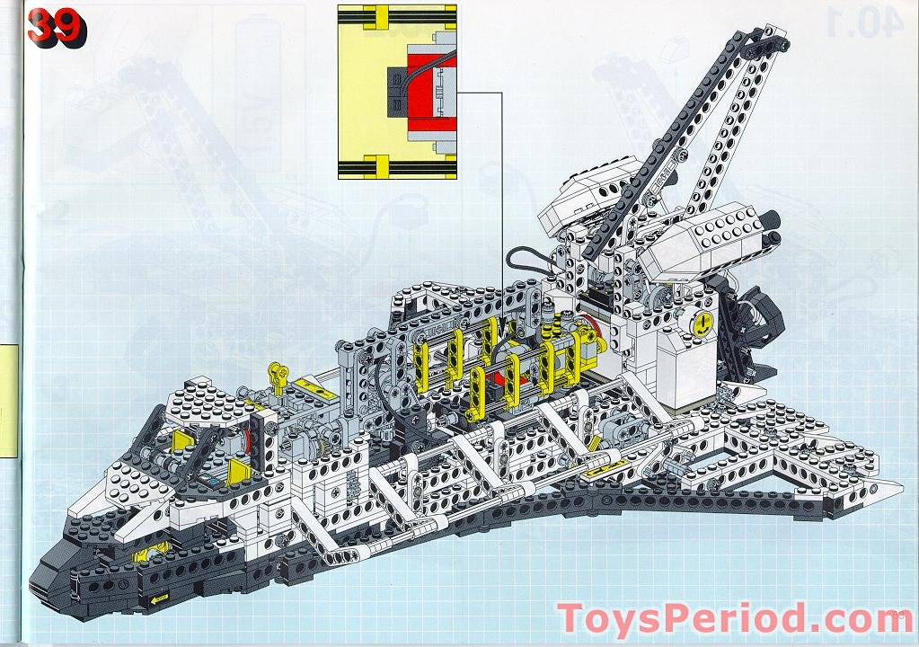 lego space shuttle parts list - photo #8