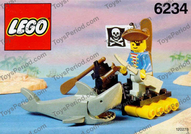 LEGO 6234 Renegade's Raft Set Parts Inventory and ...