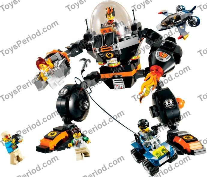 Lego 8970 Robo Attack Set Parts Inventory And Instructions